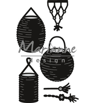Marianne Design Craftable - Lampion Set CR1443
