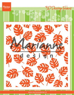 Marianne Design Embossing Folder - Tropische Bladeren DF3449