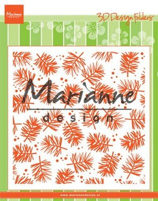 Marianne Design Embossing Folder - Pine DF3450