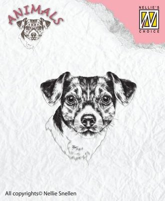 Nellie's Choice Clearstamp Animals - Hond ANI016