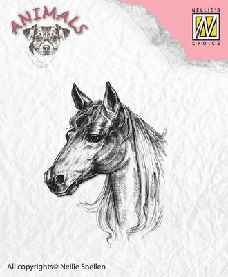 Nellie's Choice Clearstamp Animals - Paard ANI018