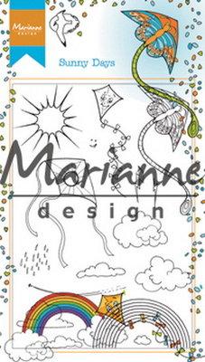 Marianne Design Stempel - Hetty's Sunny Days HT1635