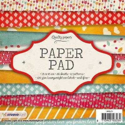 Studio Light Paper Pack 15 x 15 cm - Nr. 79 PPSL71