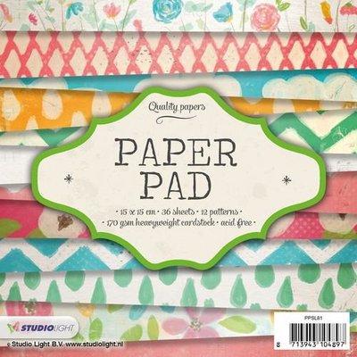 Studio Light Paper Pack 15 x 15 cm - Nr. 81 PPSL81