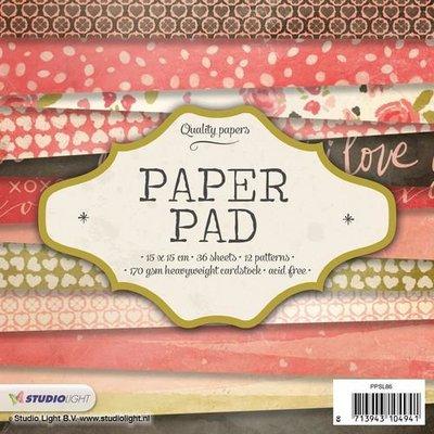 Studio Light Paper Pack 15 x 15 cm - Nr. 86 PPSL86