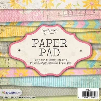 Studio Light Paper Pack 15 x 15 cm - Nr. 68 PPSL68