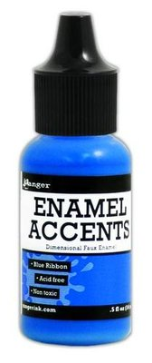 Ranger Enamel Accents - Blue Ribbon GAC48862