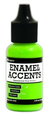 Ranger Enamel Accents - Electric Lime GAC48909