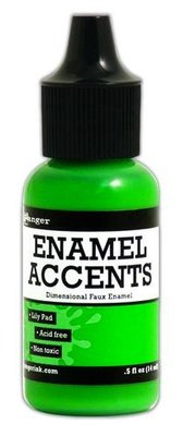 Ranger Enamel Accents - Lily pad GAC48947