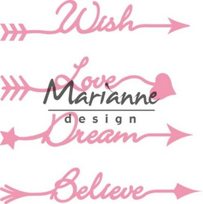 Marianne Design Collectable - Arrow Sentiments COL1458
