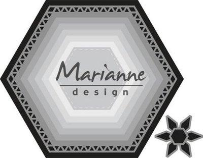 Marianne Design Craftable - Basic Zeshoek CR1444