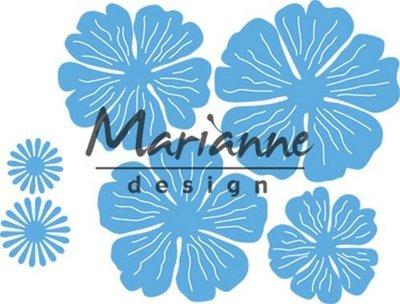 Marianne Design Creatable - Anja's prachtige bloemenset LR0546