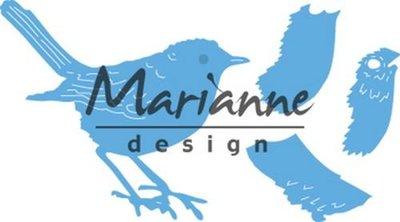 Marianne Design Creatable - Tiny's roodborstje LR0548