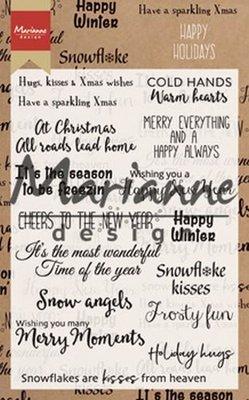 Marianne Design Stempel - Happy Holidays CS1009