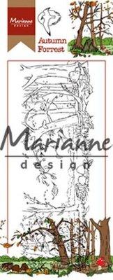 Marianne Design Stempel - Border Hetty's Herfstbos HT1636