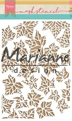 Marianne Design Mask - Tiny's Leaves PS8009
