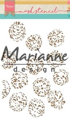 Marianne Design Mask - Tiny's Pine Cones PS8010