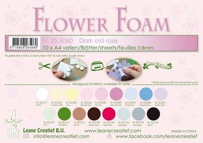 Leane Creatief Flower Foam - Donker oudroze 25.5060