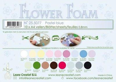 Leane Creatief Flower Foam - Pastel blauw 25.5077