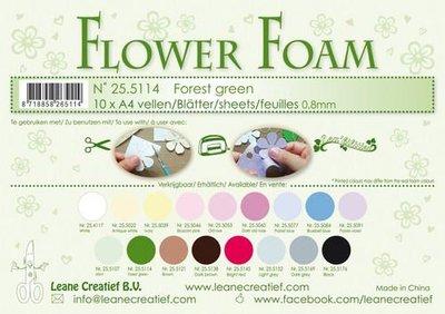Leane Creatief Flower Foam - Forest green 25.5114