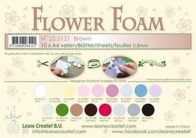 Leane Creatief Flower Foam - Bruin 25.5121