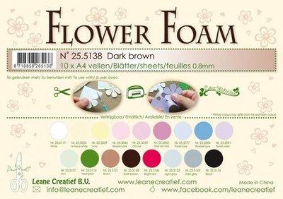 Leane Creatief Flower Foam - Donkerbruin 25.5138