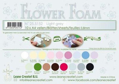 Leane Creatief Flower Foam - Lichtgrijs 25.5152