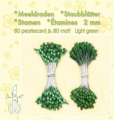 Leane Creatief Meeldraden - Light Green 26.4872