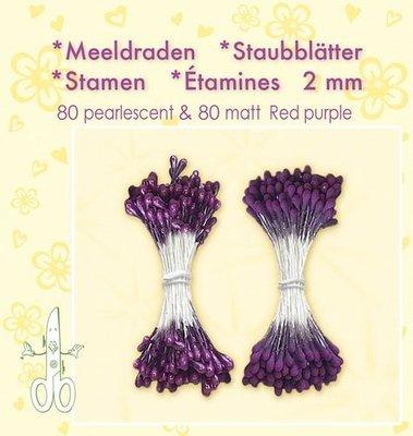 Leane Creatief Meeldraden - Red Purple 26.4889