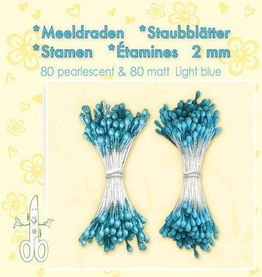Leane Creatief Meeldraden - Light Blue 26.4896