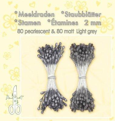 Leane Creatief Meeldraden - Light Grey 26.4902