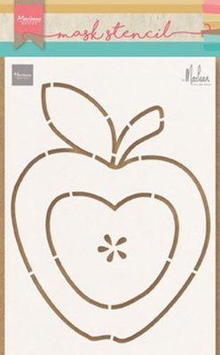 Marianne Design Craft Stencil - Apple PS8013