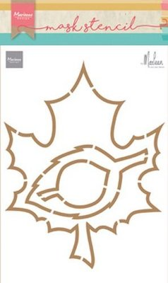 Marianne Design Craft Stencil - Autumn Leaves PS8014