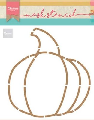 Marianne Design Craft Stencil - Pumpkin PS8016