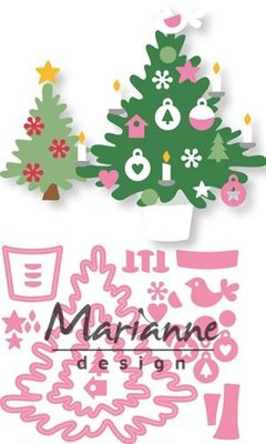 Marianne Design Collectable - Eline's Christmas Tree COL1459
