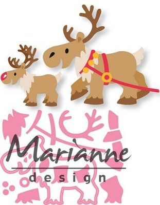 Marianne Design Collectable - Eline's Rendier COL1461 (pre-order)