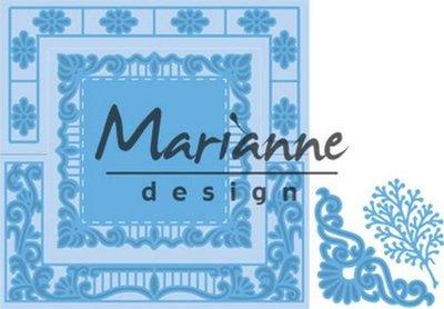 Marianne Design Creatable - Anja's Vierkant LR0553