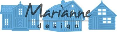 Marianne Design Creatable - Scandinavische huizen LR0555