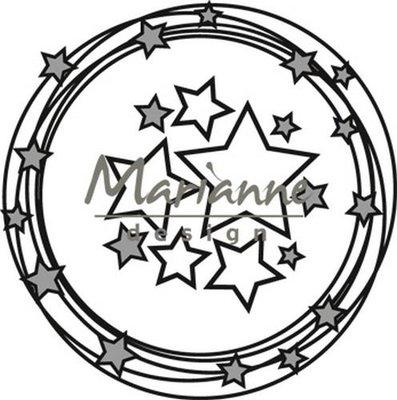 Marianne Design Craftable - Cirkel & Sterren CR1447