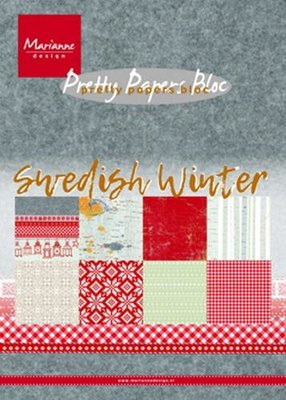 Marianne Design Paper Pack A5 - Swedish Winter PK9159