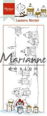 Marianne Design Stempel - Border Hetty's Lantaarn HT1640