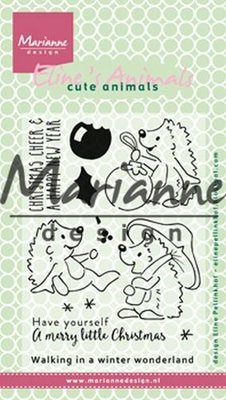 Marianne Design Stempel - Eline's Kerst Egels EC0173