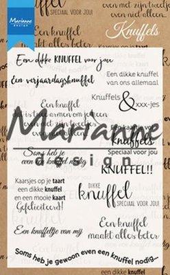 Marianne Design Stempel - Knuffels CS1010