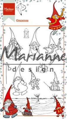 Marianne Design Stempel - Hetty's Kabouters HT1639