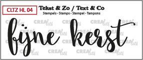 Crealies Stempel Tekst & Zo - Handlettering 4