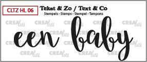 Crealies Stempel Tekst & Zo - Handlettering 6