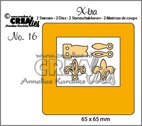 Crealies X-tra 16