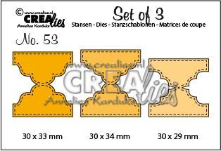 Crealies Set of 3 - 53