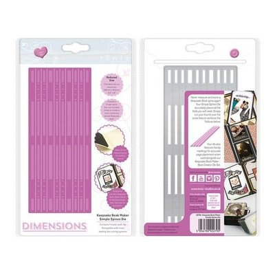 Tonic Studios Die Keepsake Book Maker - Simple Spines 2279E OP=OP