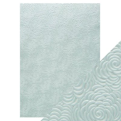 Tonic Studios Hand Crafted Cotton Paper A4 - Ice Petals 9879E